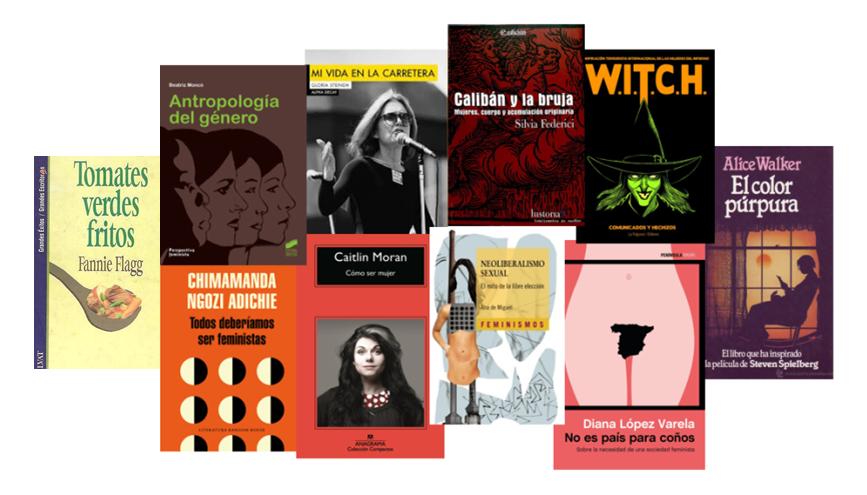 Libros, autoras, feminismo, mujeres en lucha, literatura, ensayo, novela