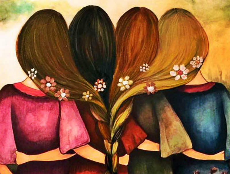 feminismo, mujeres en lucha, mujeres, sororidad, hermanas
