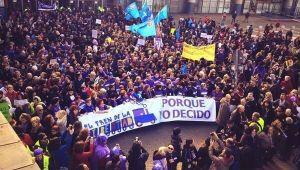 feminismo, mujeres en lucha, religión, semana santa, aborto, tren de la libertad, madrid